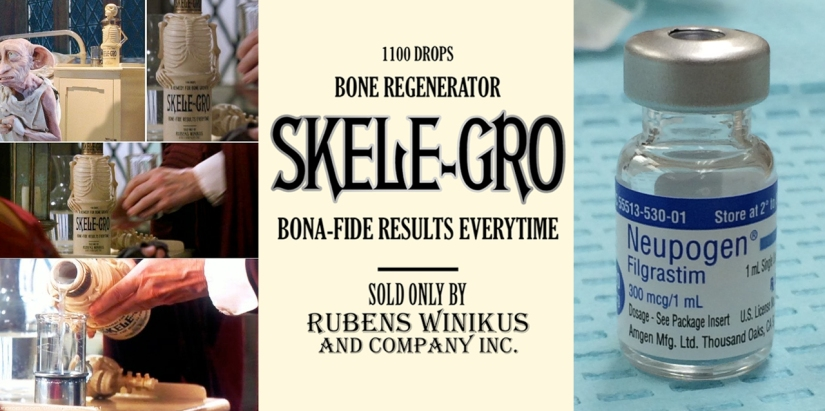 Skele-gro or what my doctors call Neupogen